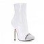 Stiletto Heel Wedding Shoes Average Party & Evening Booties/Ankle Boots Sequined Cloth/Sparkling Glitter Pointed Toe