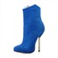 Office & Career Boots Booties/Ankle Boots Stretch Velvet Zipper Girls' Pointed Toe