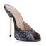 PU Sandals Girls' Stiletto Heel Peep Toe Party & Evening Average