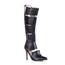 Pumps/Heels Boots Women's Average Zipper Stiletto Heel Knee High Boots