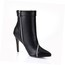 Average Wedding Shoes Pumps/Heels Booties/Ankle Boots PU Women's Zipper