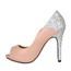 Girls' Pumps/Heels Narrow Sandals Stiletto Heel Sequined Cloth/Sparkling Glitter Office & Career