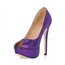 Wide Wedding Shoes PU Wedding Girls' Sparkling Glitter Round Toe