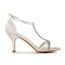 Girls' Sandals Kitten Heel Satin Rhinestone Round Toe Party & Evening