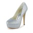 Party & Evening Platforms Sequined Cloth/Sparkling Glitter Round Toe Stiletto Heel Women's Sparkling Glitter