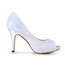 Pumps/Heels Wedding Shoes Satin Women's Lace Stiletto Heel Party & Evening
