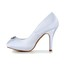 Stiletto Heel Pumps/Heels Women's Rhinestone Dress Satin Peep Toe