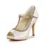 Party & Evening Platforms Satin Round Toe Stiletto Heel Split Joint Girls'