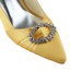 Women's Wedding Shoes Pointed Toe Satin Casual Low Heel Rhinestone