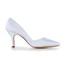 Pointed Toe Pumps/Heels Kitten Heel Satin Women's Honeymoon