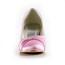 Kitten Heel Pumps/Heels Casual Average Round Toe Satin Rhinestone