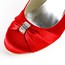 Girls' Pumps/Heels Rhinestone Satin Round Toe Outdoor Average
