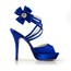 Rhinestone Wedding Shoes Average Stiletto Heel Round Toe Women's Satin