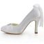 Girls' Pumps/Heels Silk Like Satin Bowknot Kitten Heel D'Orsay & Two-Piece Daily