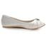 Silk Like Satin Flats Graduation Flat Heel Girls' Ruched Comfort